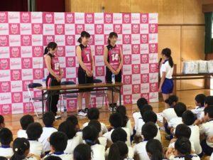 【バレーボール人権教室】