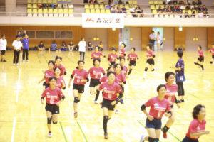 【森永乳業杯ツアーオブバレーボール2018】郡山大会