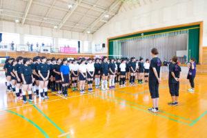 【森永乳業杯ツアーオブバレーボール2018】大分大会