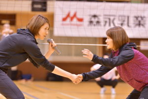 【森永乳業杯ツアーオブバレーボール2018】埼玉大会