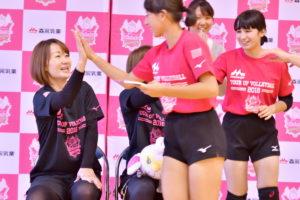 【森永乳業杯ツアーオブバレーボール2018】東京大会