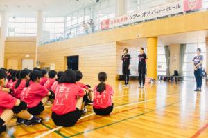 【森永乳業杯ツアーオブバレーボール2018】名古屋大会