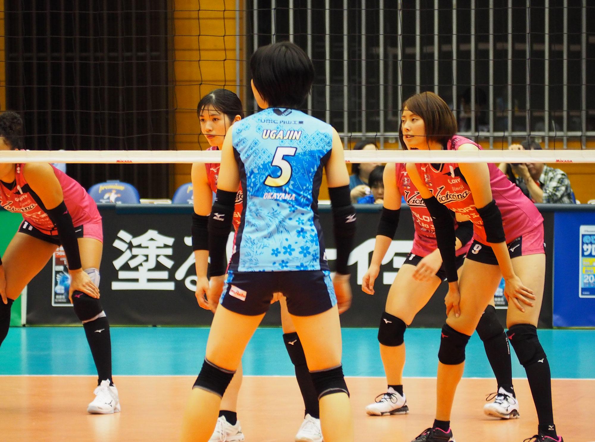 2019-10-19_佐賀県SAGAサンライズパーク総合体育館 vs岡山シーガルズ