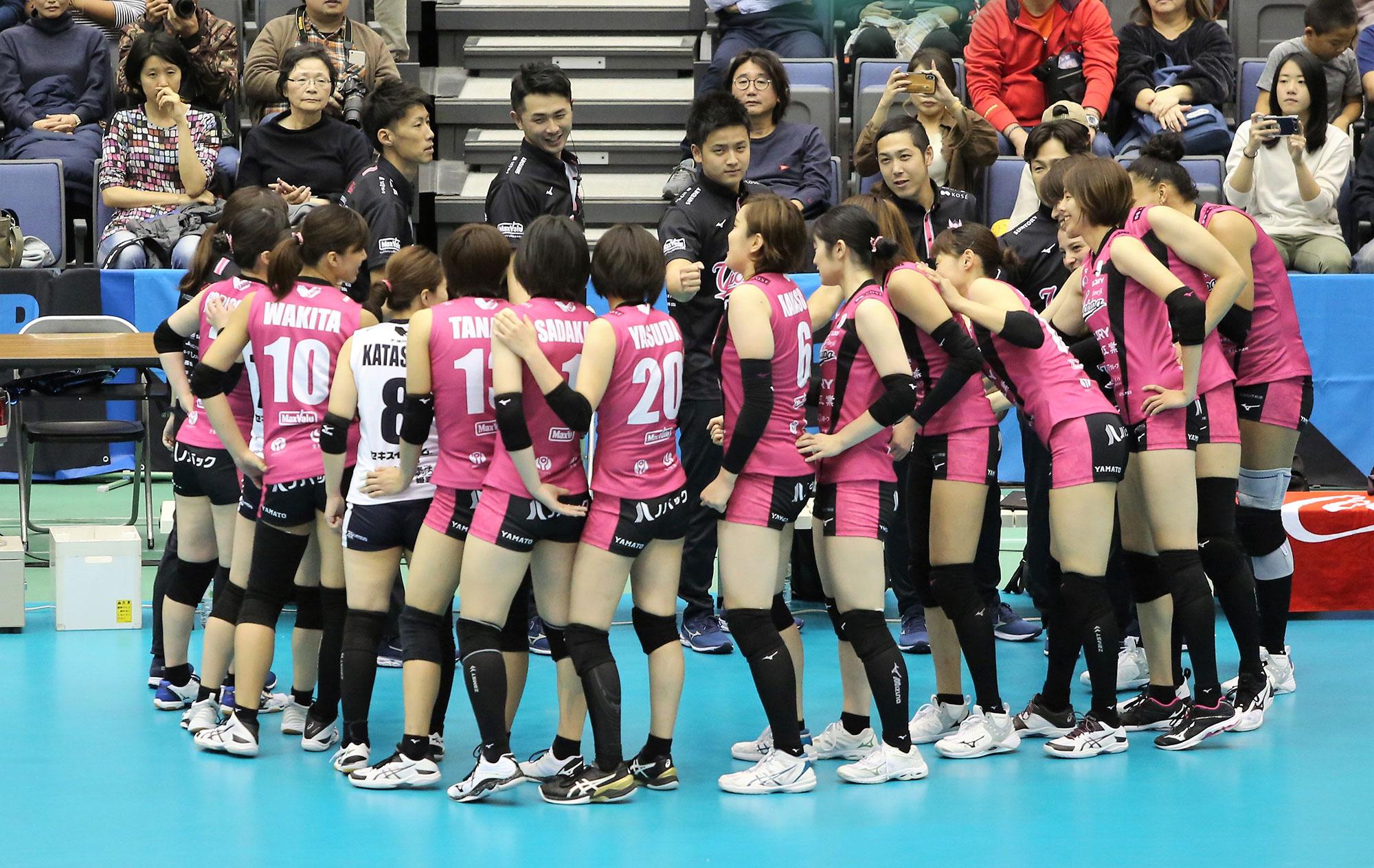 2019.11.10 vs岡山シーガルズ