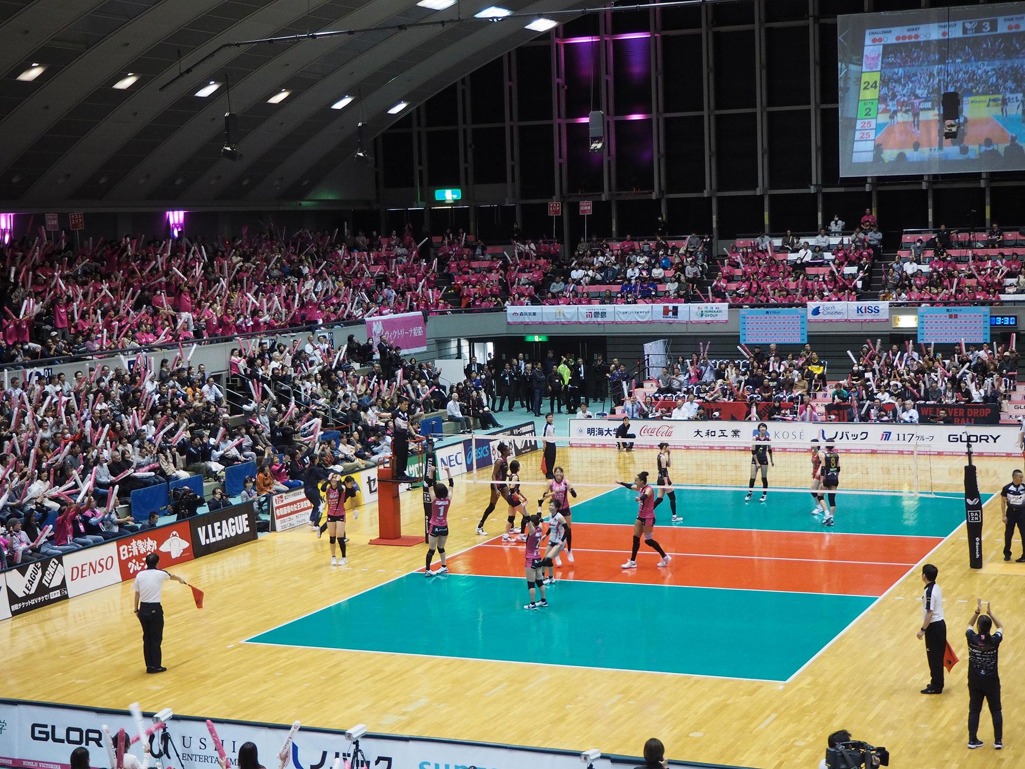 20191116 vs久光製薬 ウインク体育館