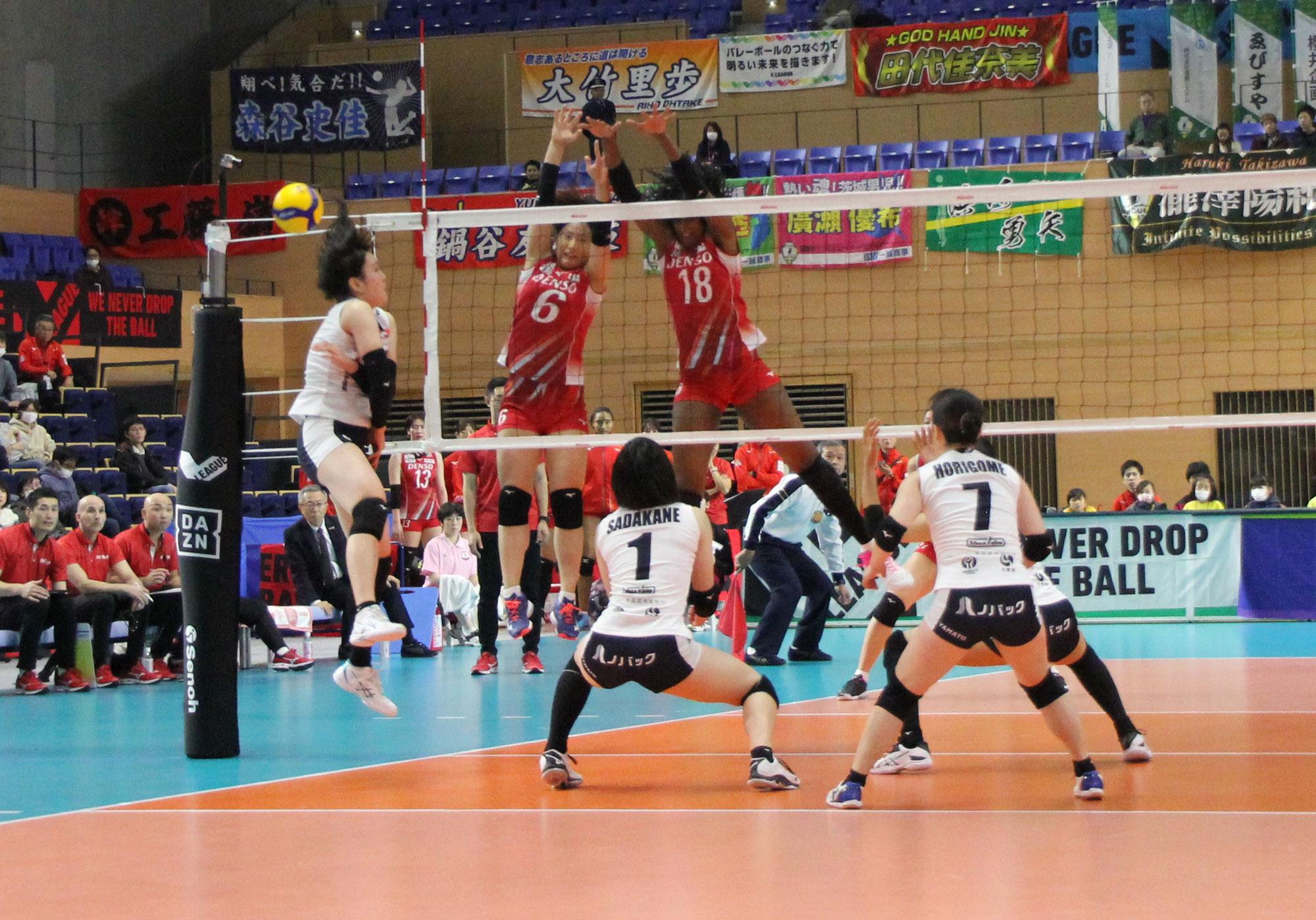 2019.12.14 アダストリアみとアリーナ(茨城県) vs デンソー