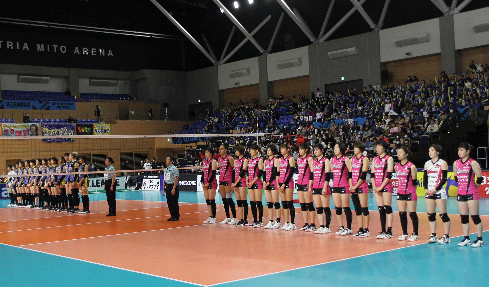 20191216 アダストリアみとアリーナ vs日立リヴァーレ