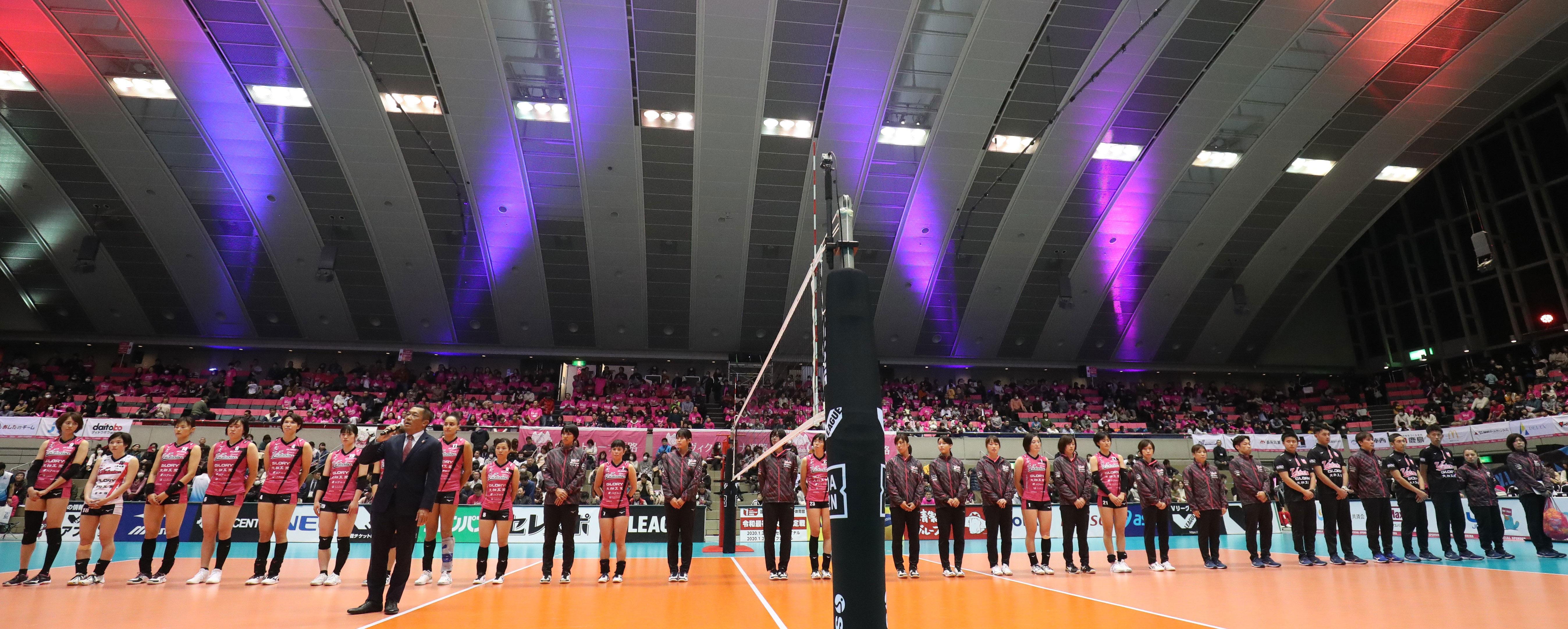 2019.12.29 ウインク体育館 vs 岡山シーガルズ