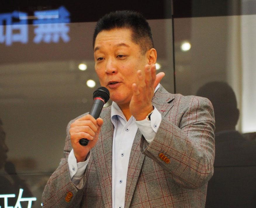 眞鍋政義オーナーが ENJOY SPORTS スポーツで輝け!ひょうご トークイベントに参加
