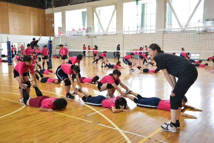 【森永乳業杯ツアーオブバレーボール2019】大阪大会 9月21日@羽曳野市立はびきの埴生学園