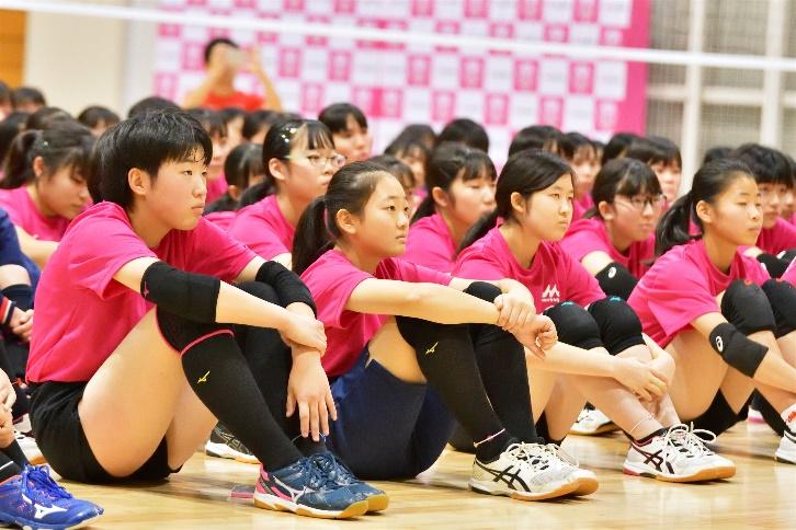 森永乳業杯ツアー オブ バレーボール2019】千葉大会 11月24日@明海大学浦安キャンパス