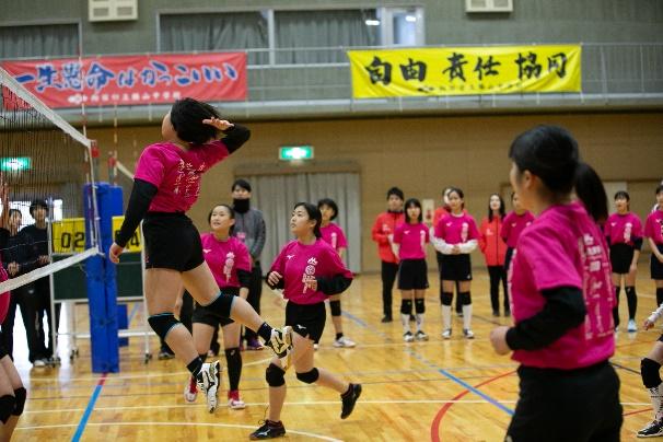 森永乳業杯ツアー オブ バレーボール2019 京都大会