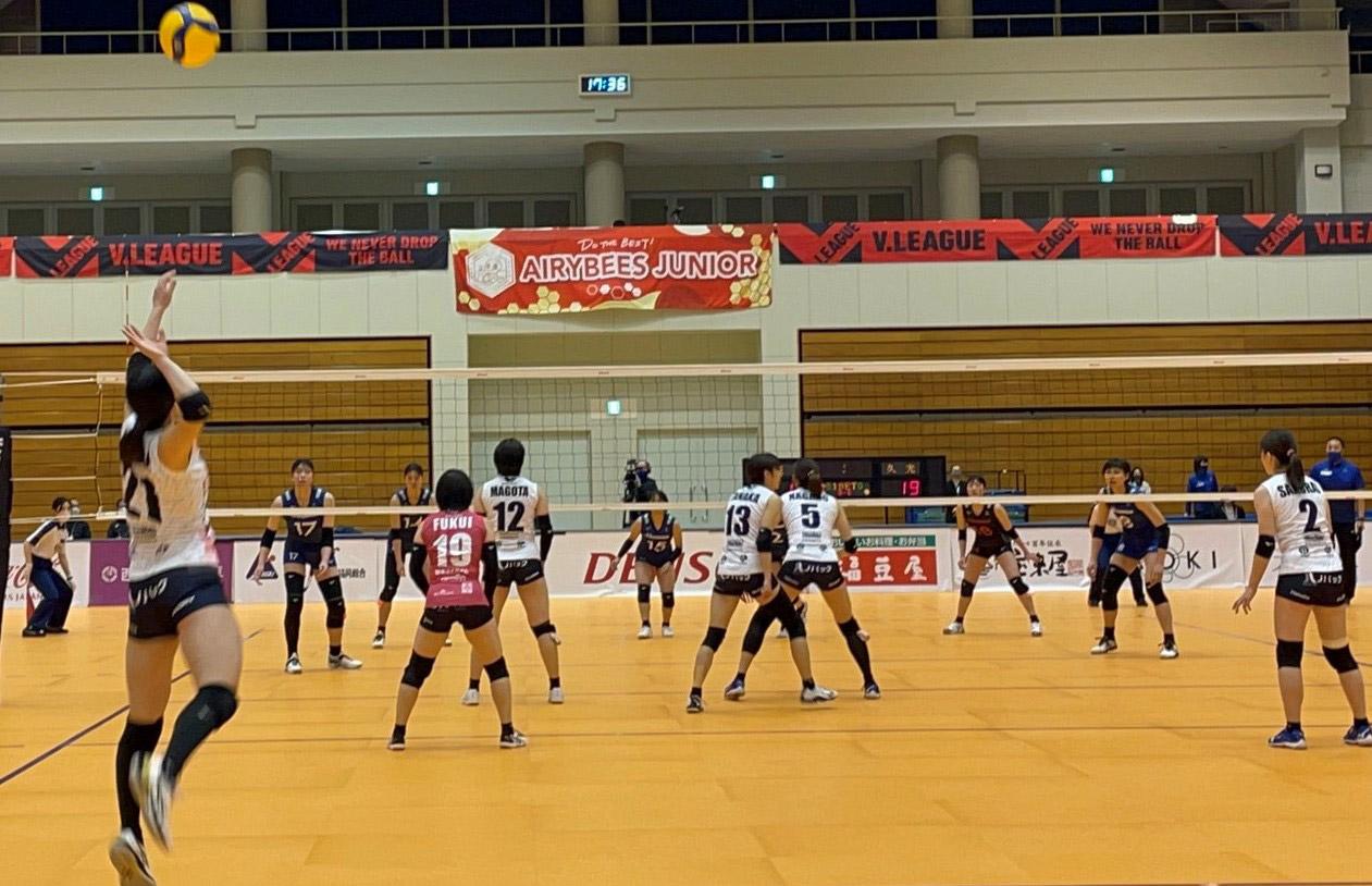 2021.2.27 岡崎中央総合公園総合体育館 vs久光スプリングス