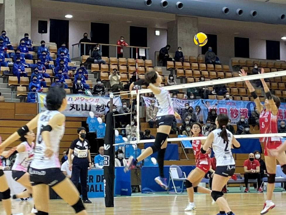 021年3月6日(土) 富山県西部体育センター(砺波市) ヴィクトリーナ姫路 vs デンソーエアリービーズ