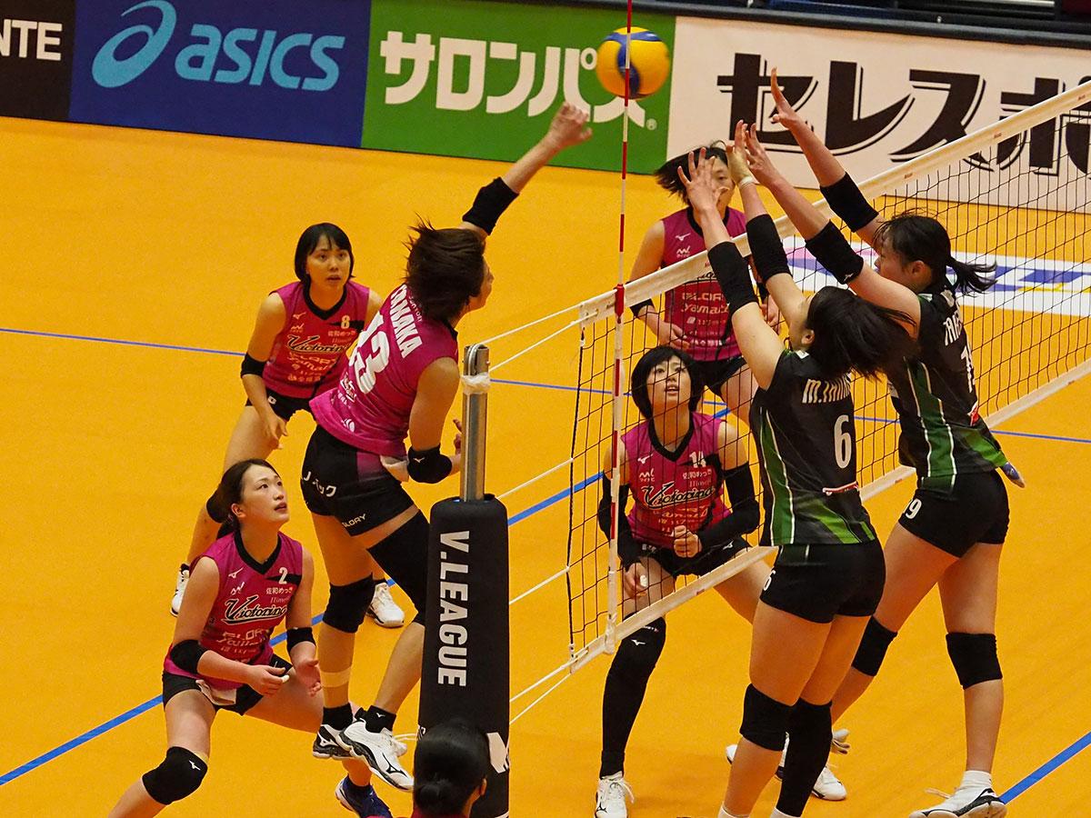 3月21日(日) 島津アリーナ(京都)  ヴィクトリーナ姫路 vs JTマーヴェラス