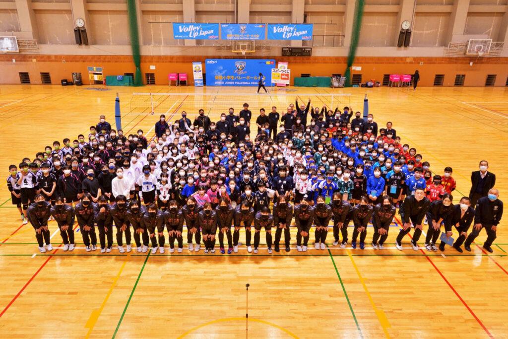 第4回グローリーカップ  ヴィクトリーナ小学生バレーボール大会を開催しました