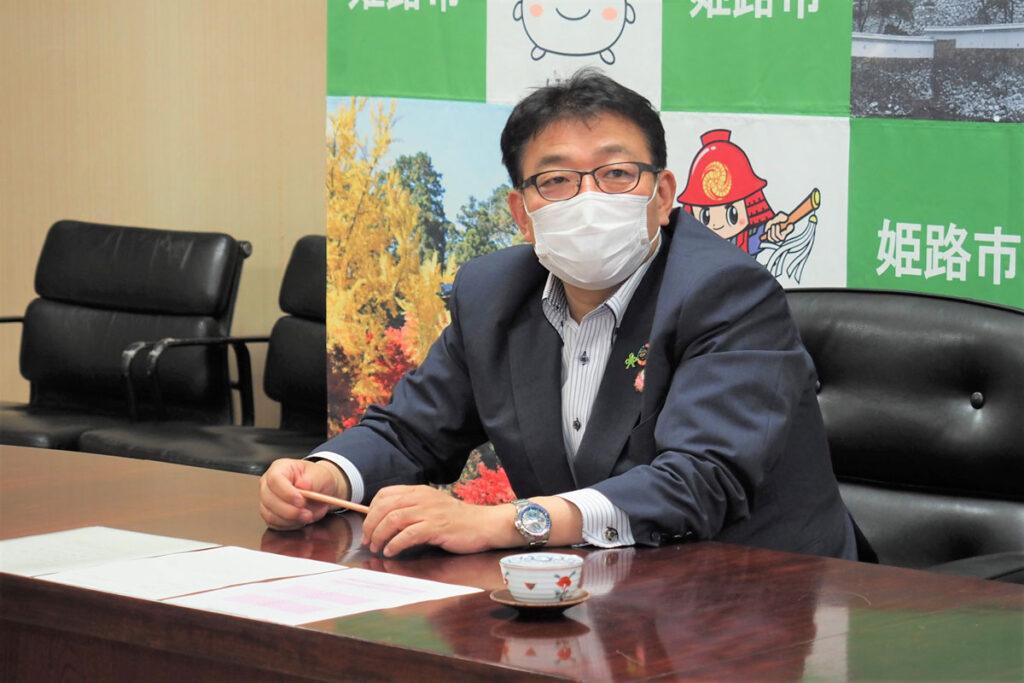 清元姫路市長に新体制発足をご報告