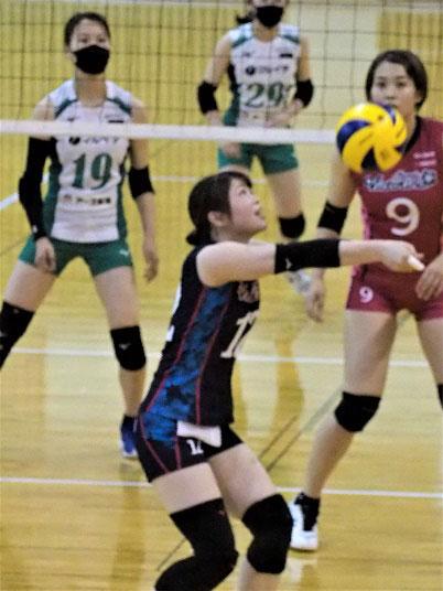 〔試合結果〕国体兵庫県予選大会女子、 「マックスバリュ・ヴィクトリーナ」が準優勝
