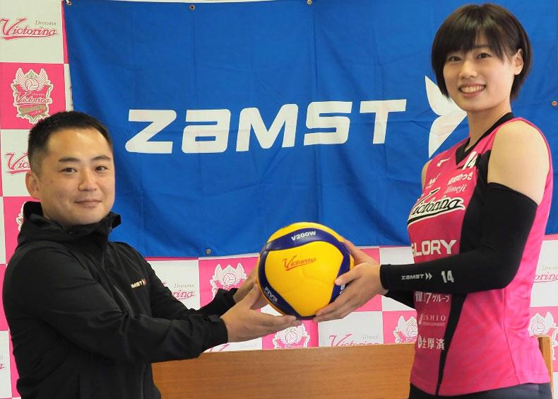 佐々木千紘と日本シグマックス株式会社が 個人スポンサーシップ契約を締結