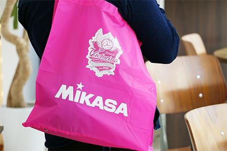 【新グッズ】MIKASAとのコラボレジャーバッグ 販売スタート!